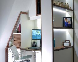 Home Office Shelving and desk