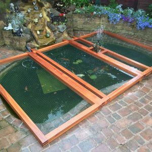 Bespoke Pond Guard and netting