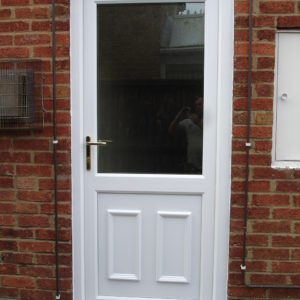 External UPVC Door