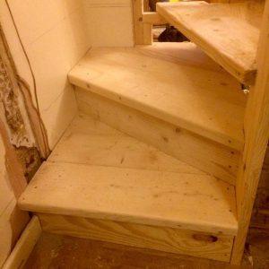 Bespoke spiral stairs