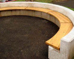 Circular Concrete Bench