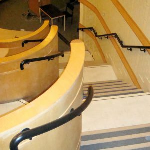 DeMontfort University Lecture Hall Staircase