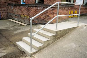 External Concrete Stairs
