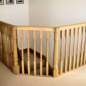 High end banister