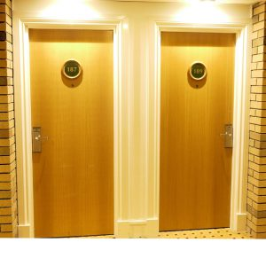 Hotel Doors With Electronic Locks