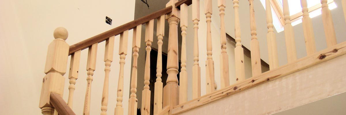 Stairs & Bannister