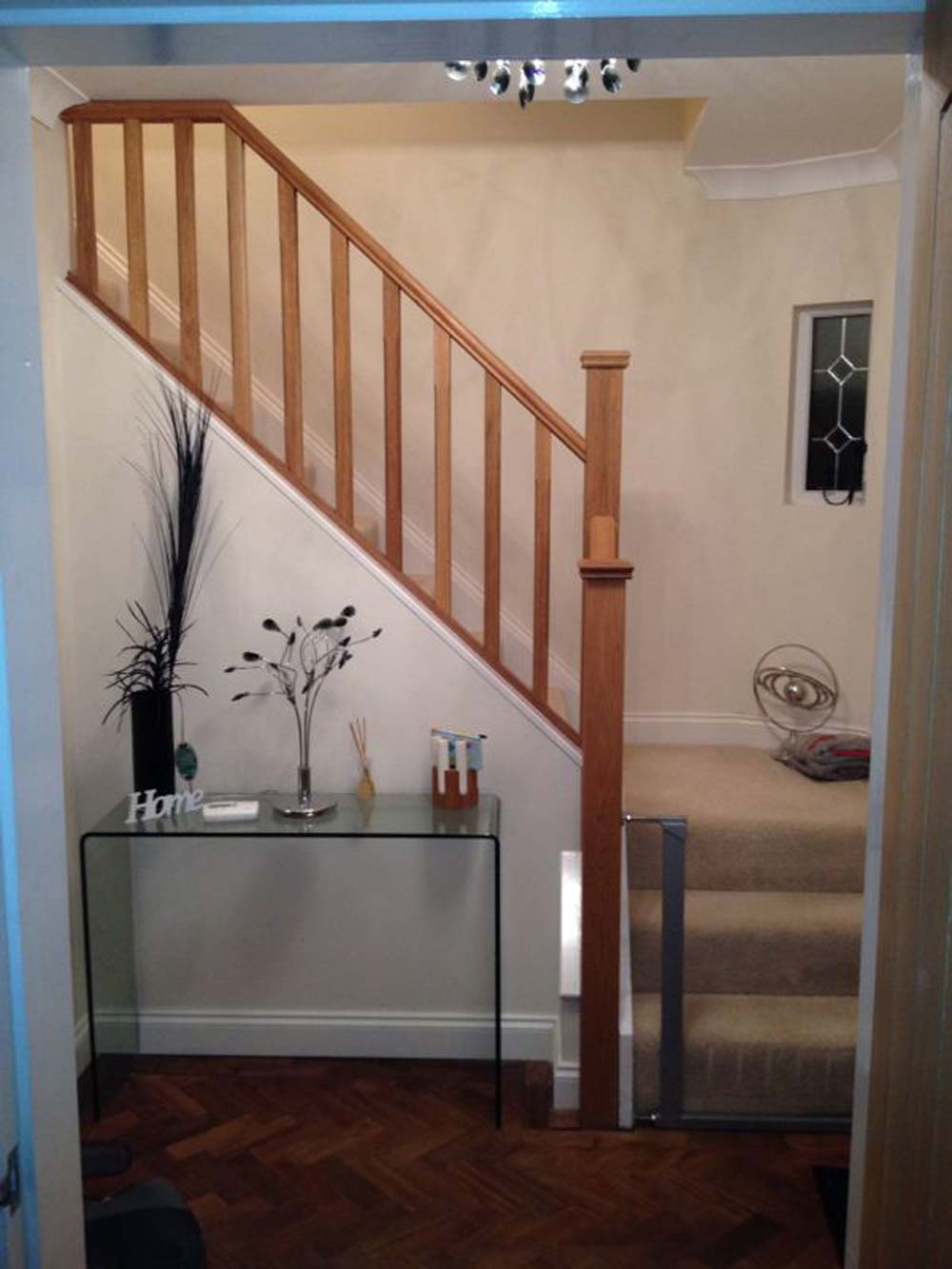 ... Updated Stair Banister ...