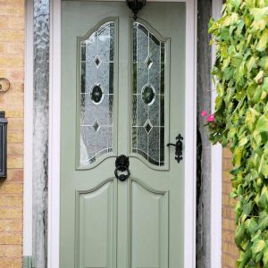 uPVC coloured front door