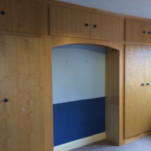 Custom fitted wardrobe